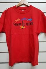 Australian Show Jumper T-Shirt - Red -Size 12