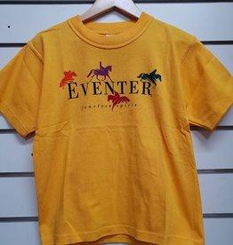 Australian Eventer T-Shirt - Yellow - Size 8
