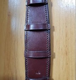 Curb Chain Guard Leather Havana - Full