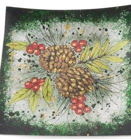Berries-n-Cones 19cm Plate