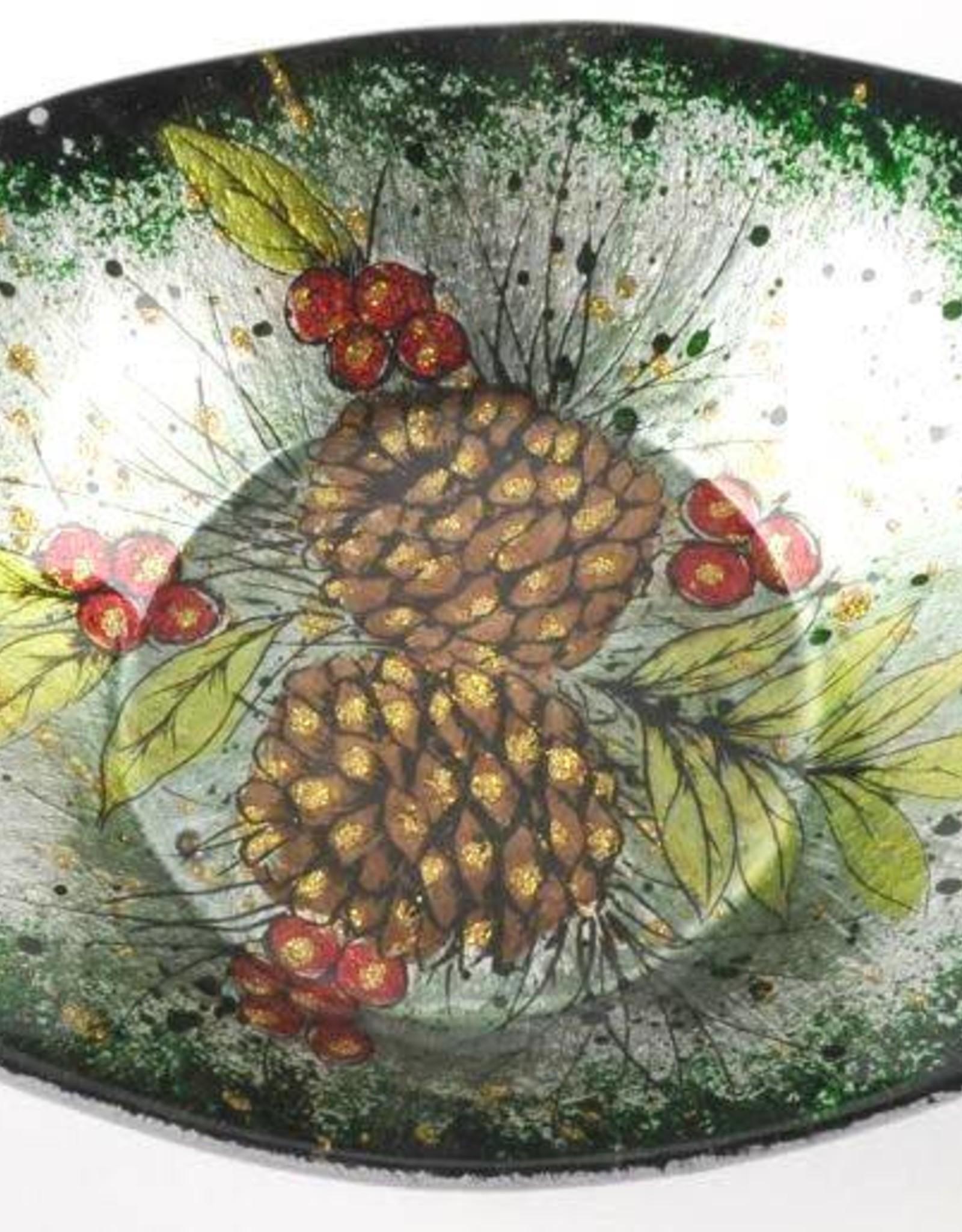 Berries-n-Cones Bowl 24cm