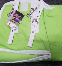 """X-Calibur Summer Synthetic - Combo -  Lime Green with White Trim -  4'6"""""""