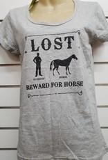 Giddy Up Girl Lost (Husband, Horse) Reward shirt - Size M