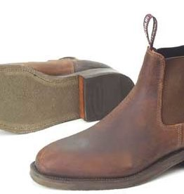 MacArthur Boot - Distressed Brown - Size 7 - Lawson
