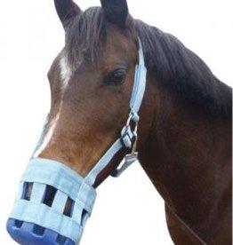 Grazing Muzzle - Pony - Navy/Rose