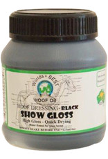 Worlds Best Hoof Oil Show Gloss 125ml - Black