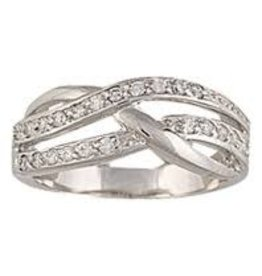 Montana Silversmiths Twisted Multi - Ring Size 10
