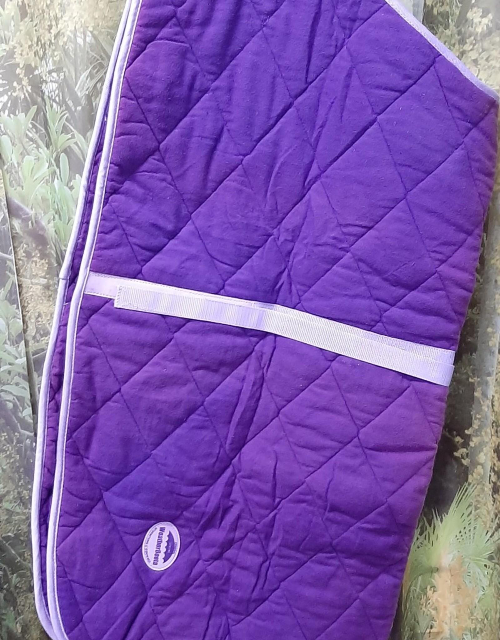Dog Rug 104cm - Purple Fleece - faded