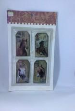 Vintage Fridge Magnets set