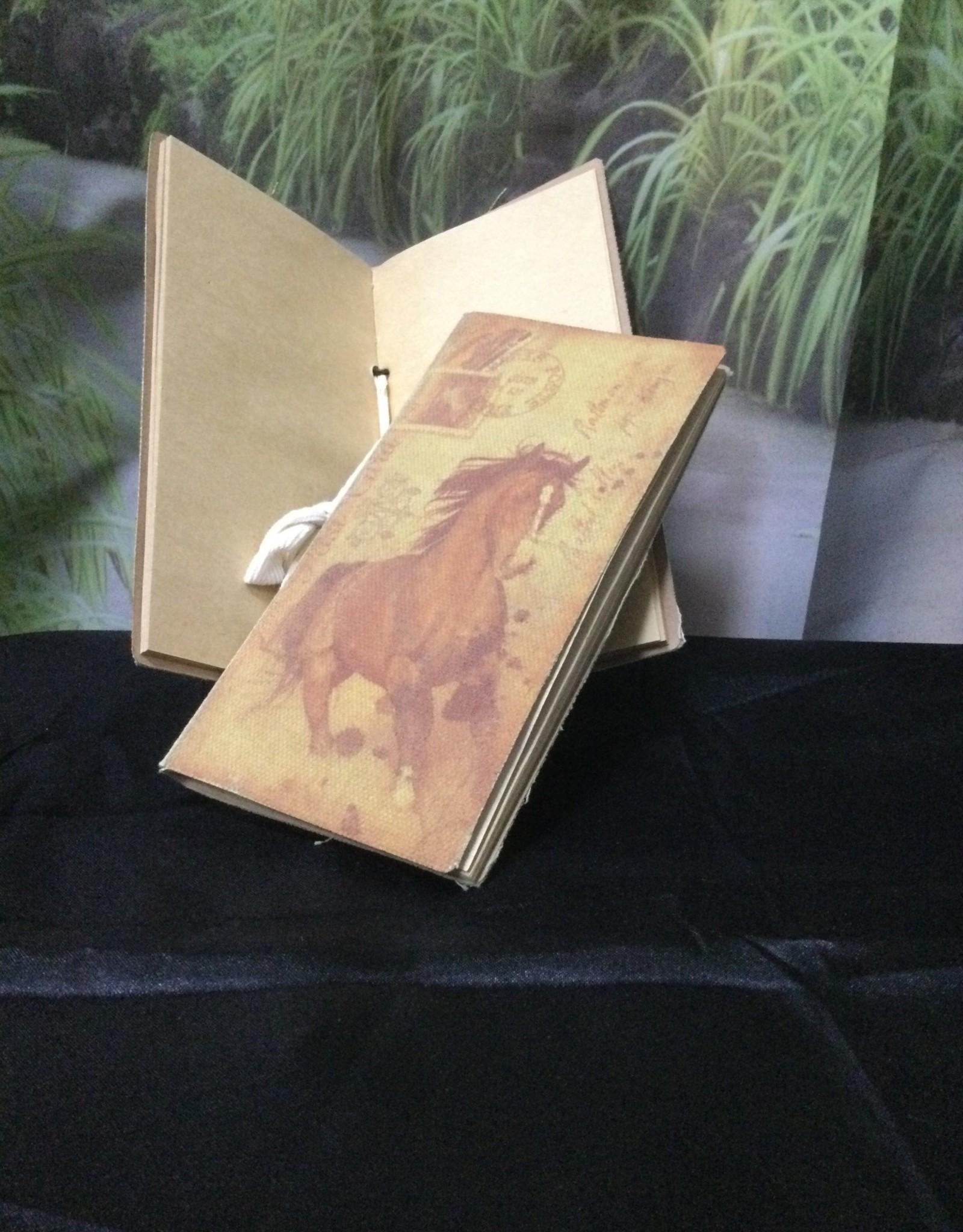 Vintage Canvas Note Book Chestnut