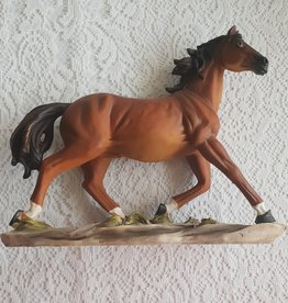 Horse Ornament Brown  22cm