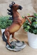Horse Rearing Brown 29cm