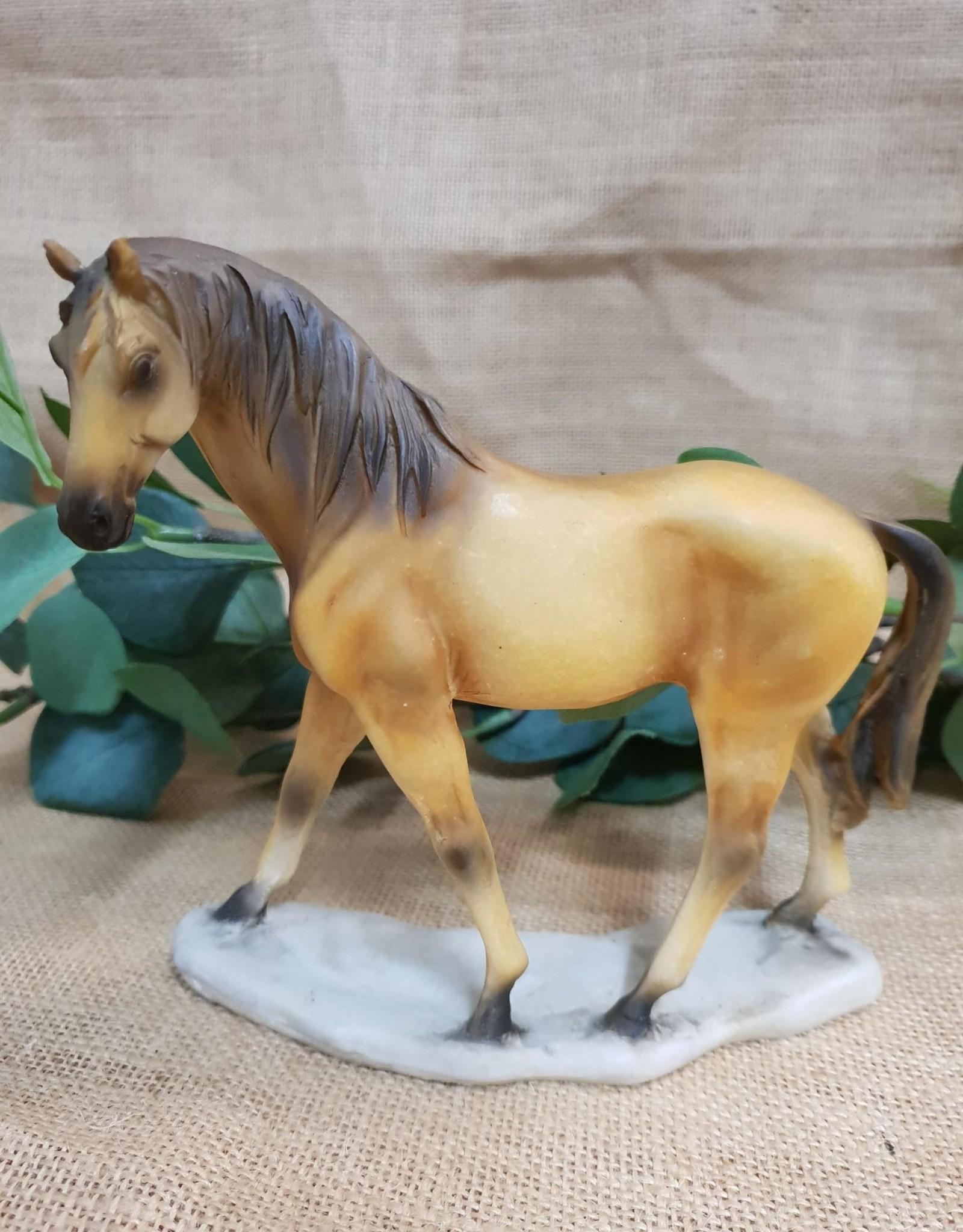 Ornament Buckskin Horse 15cm