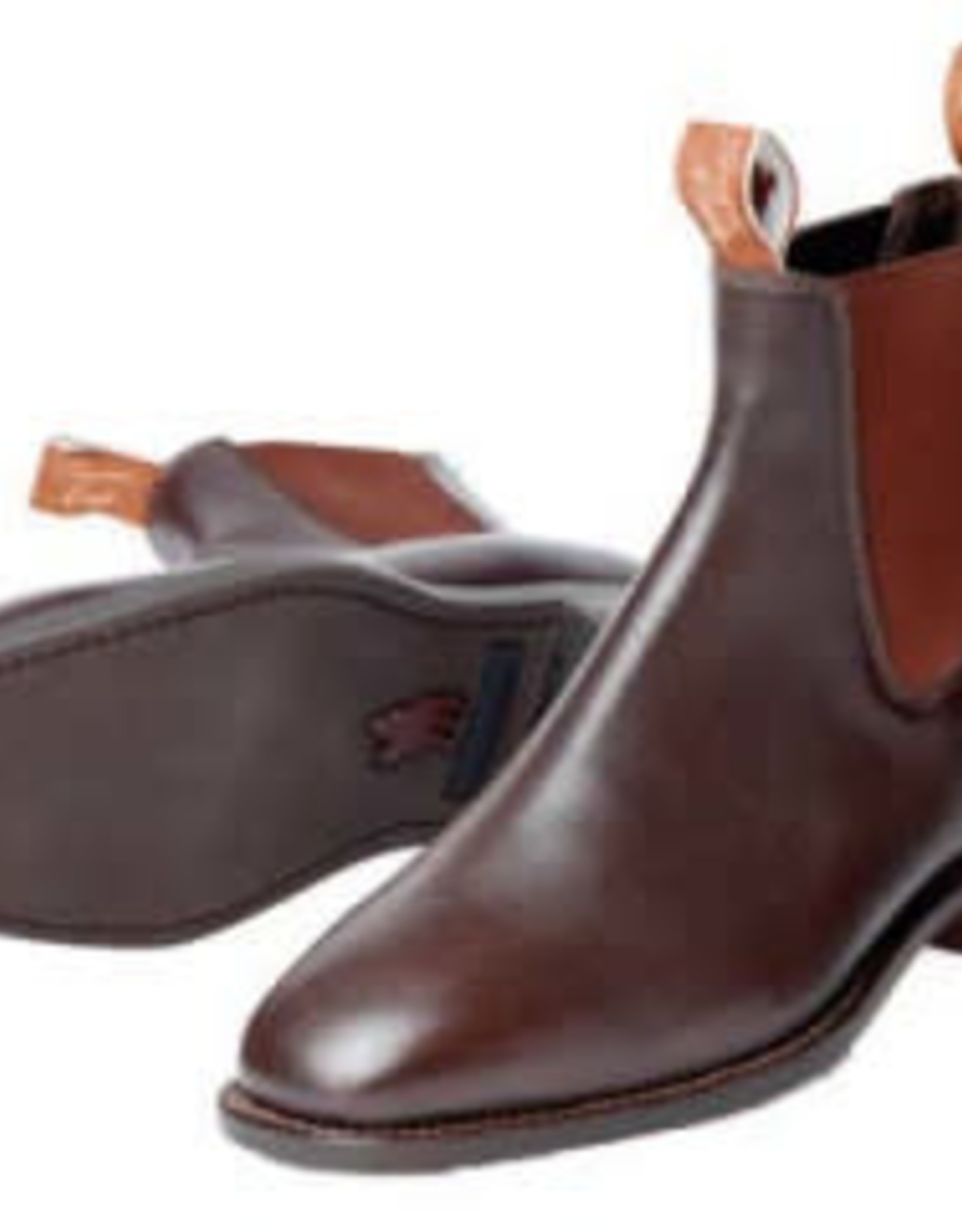 Thomas Cook Thomas Cook Trentham Women's Leather Sole Boots - Chestnut - Size 9