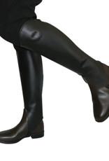 Showcraft Leather Gaiter - Black - XXL