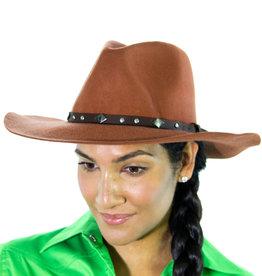 Brigalow Buckled Brim Felt Hat - 58cm