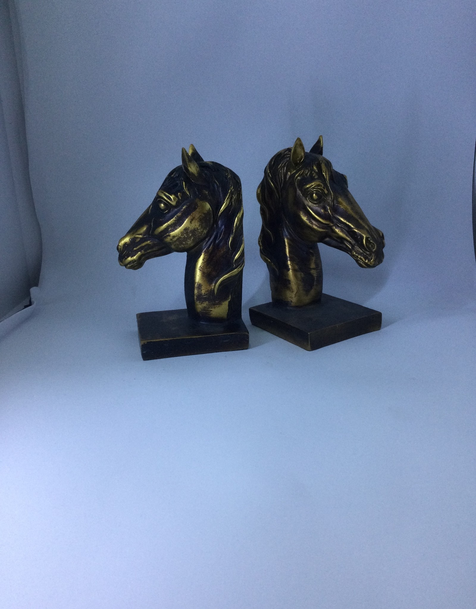 BookEnds Horse Head - Bronze