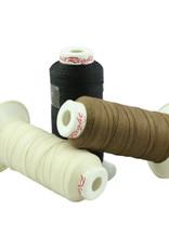 Plaiting Thread 250m Brown