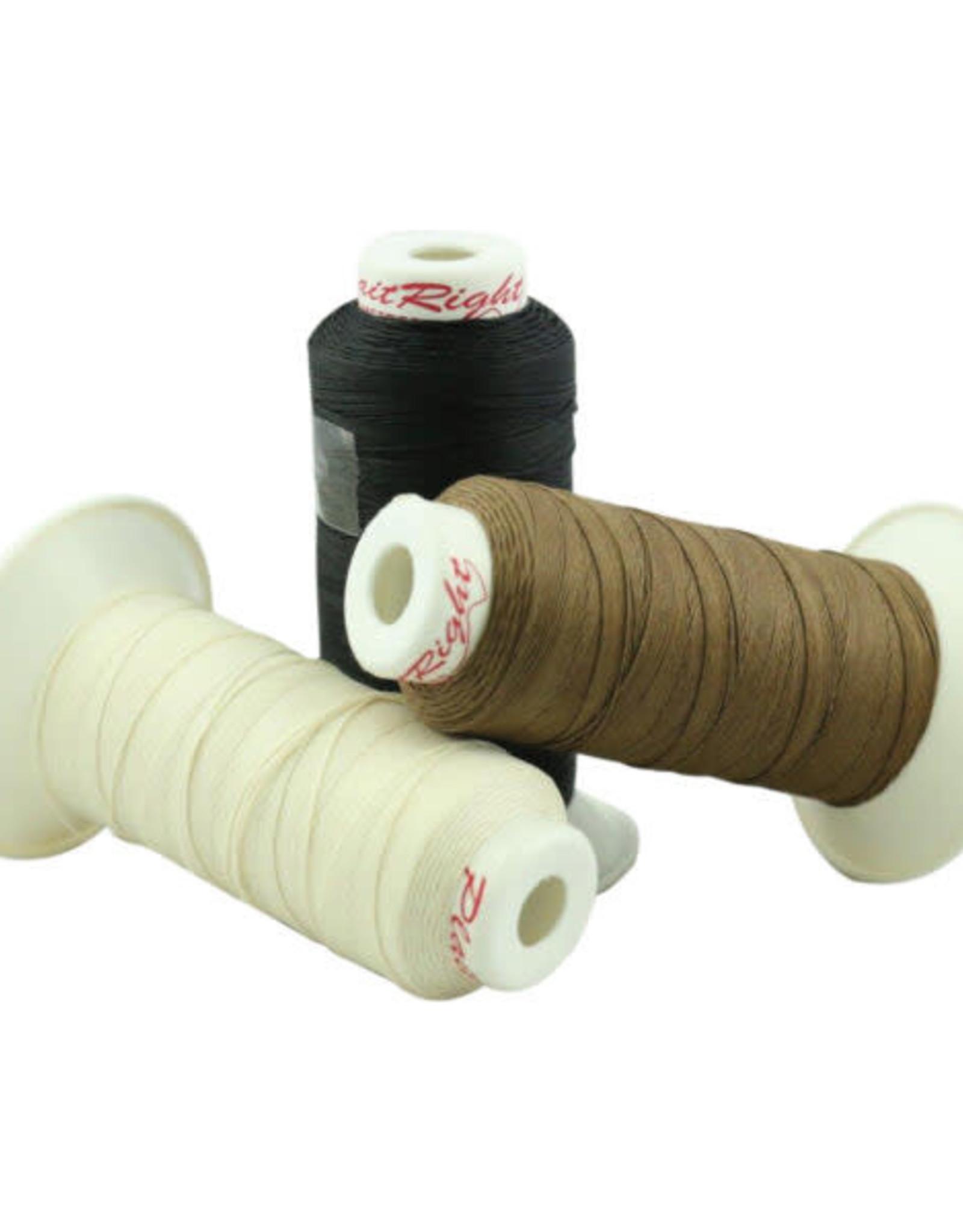 Plaiting Thread 250m Black