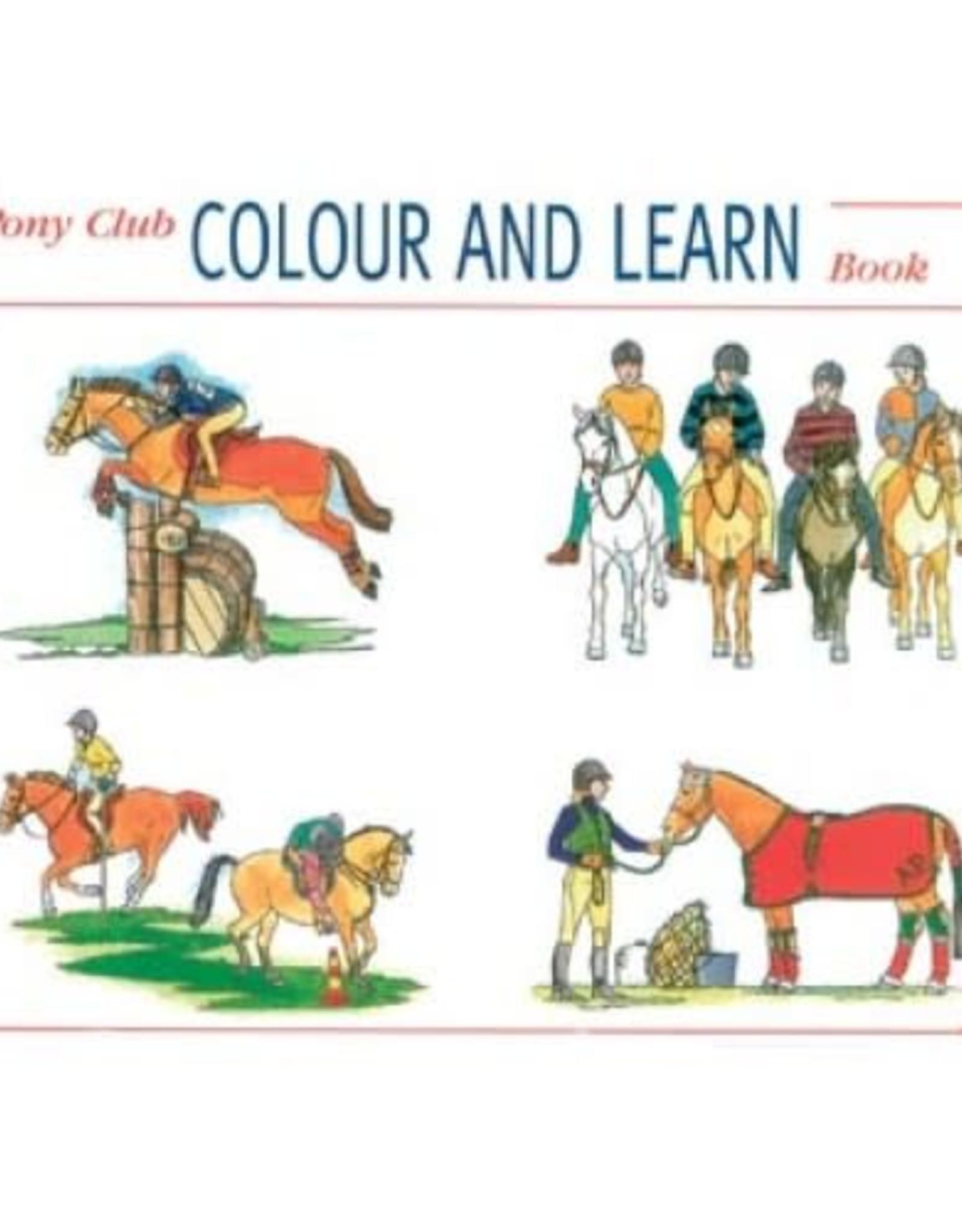 Pony Club Colour & Learn Book