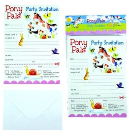 Pony Pals Party Invitations