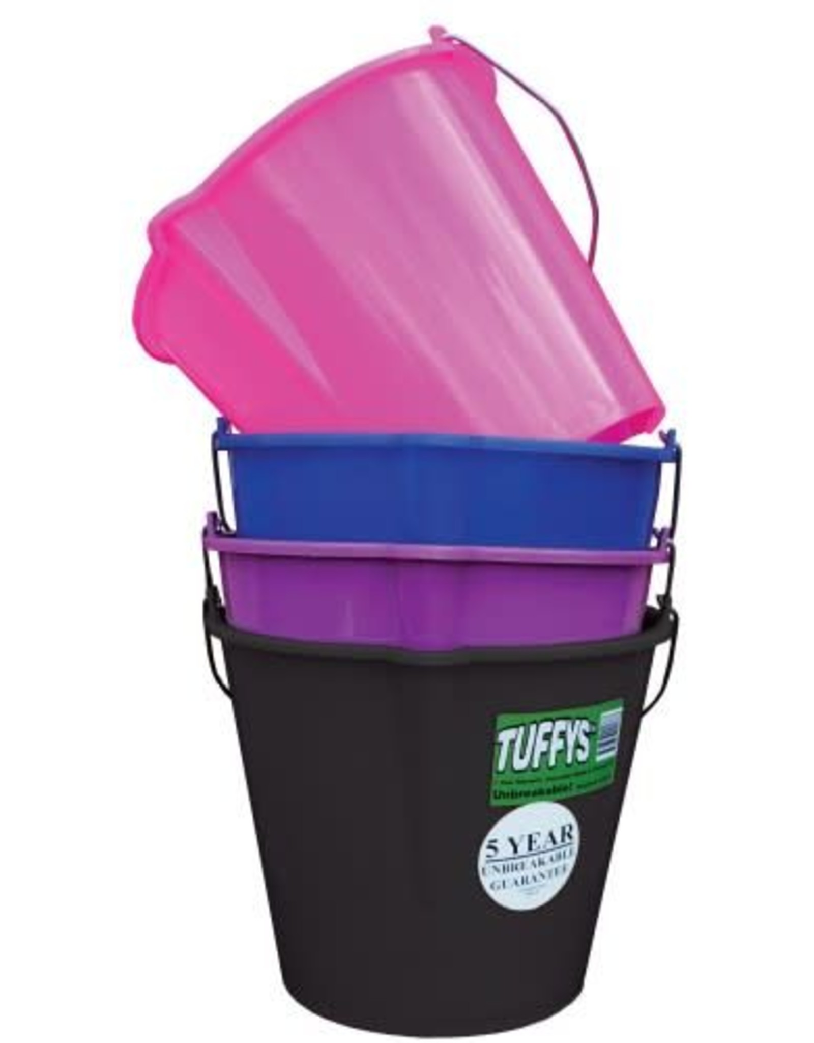 Tuffys Unbreakable Bucket - 10 Litre Capacity - Purple