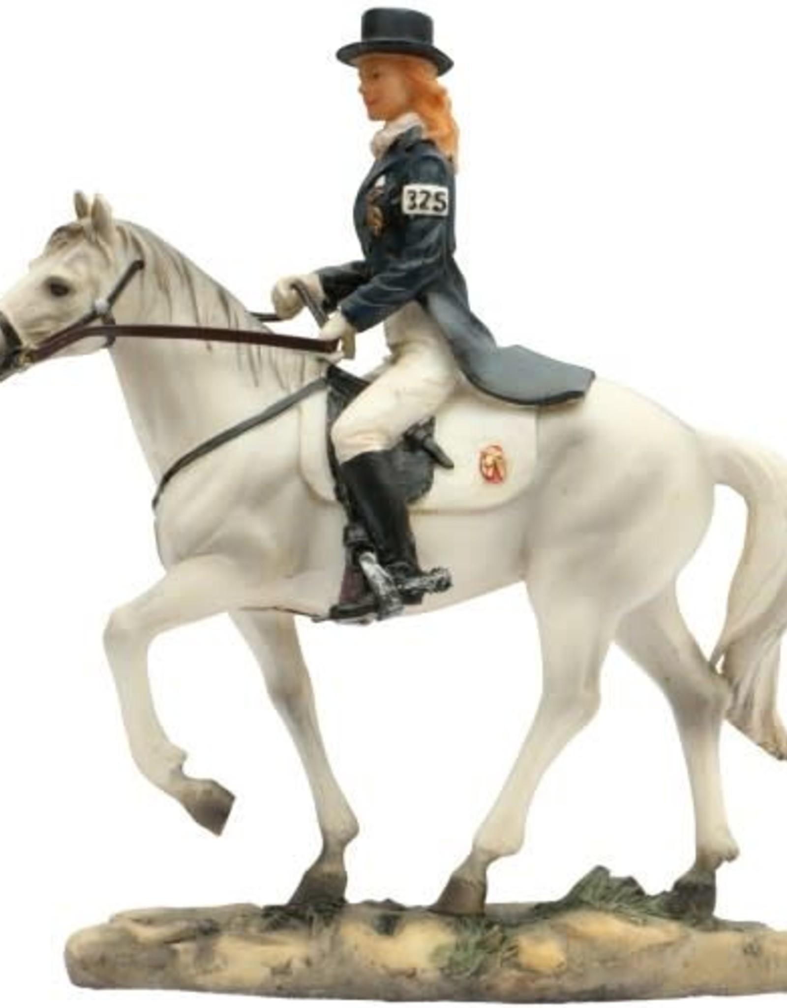 Resin Dressage Horse Model 20cm x 17cm