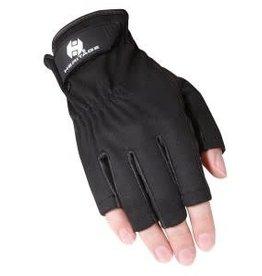 Heritage Tech-Lite Fingerless Gloves - Black - Size 6