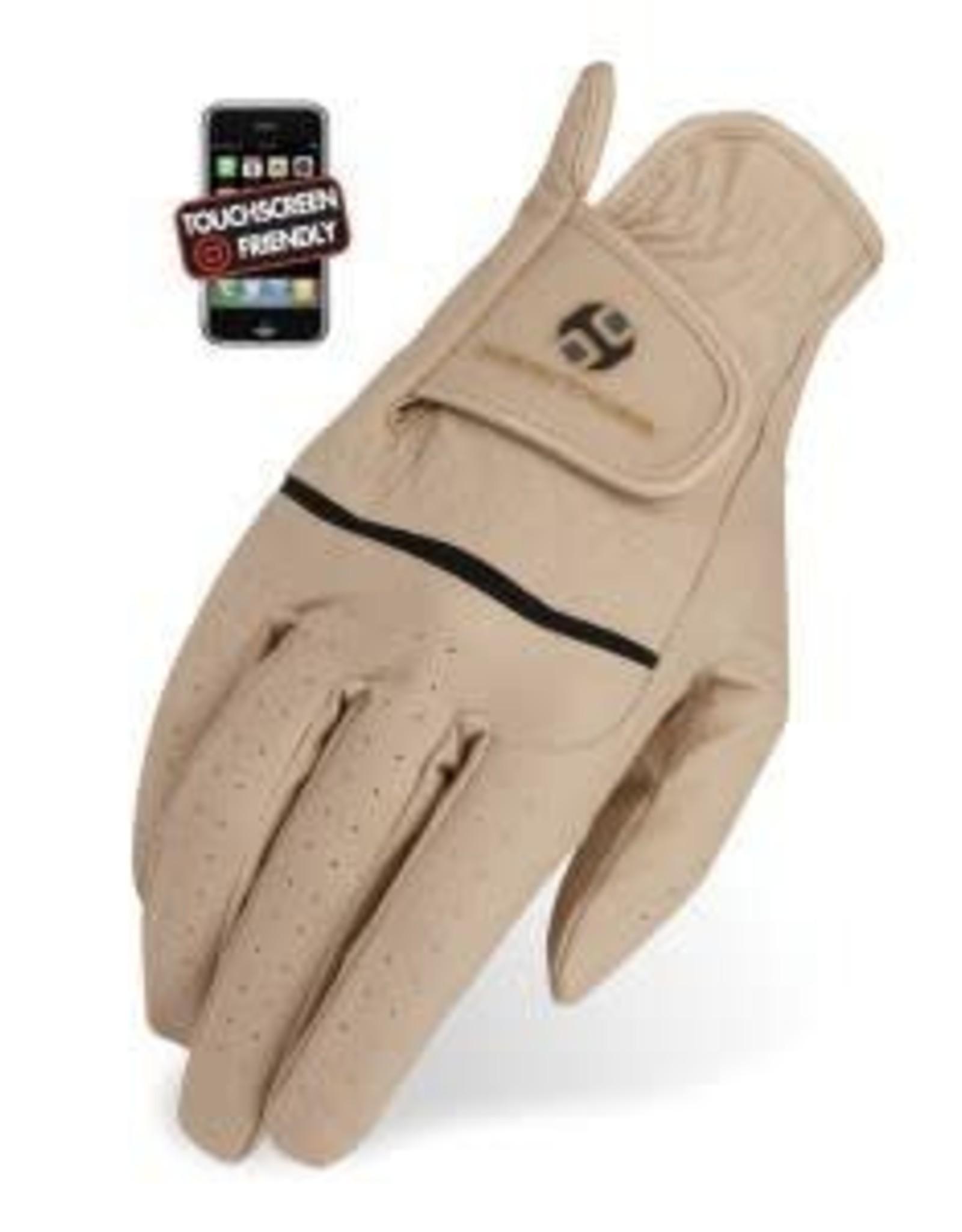 Heritage Premier Show Gloves - Beige - Size 8