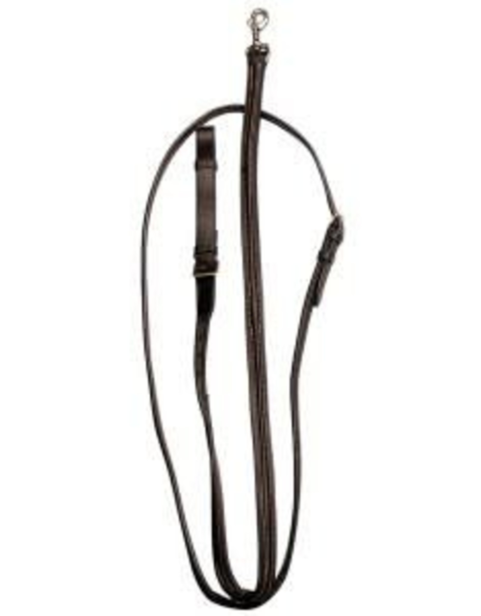 Leather Standing Martingale - Brown - Full