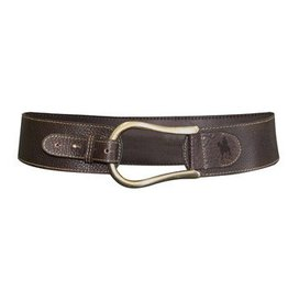 Thomas Cook Thomas Cook Women's Horseshoe Buckle Belt - Dark Brown - M