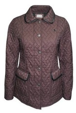 Thomas Cook Thomas Cook Rosie Quilted Jacket  - Chocolate - Size S