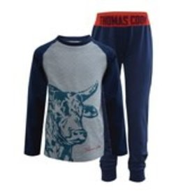 Thomas Cook Thomas Cook Boys Brahman Bull PJ's - Navy - Size 8