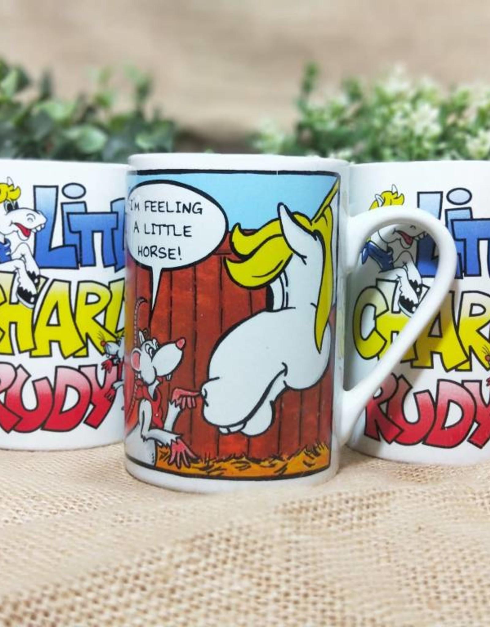 Little Charlie Rudy 'Feeling A Little Horse' Mug