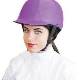 Stretch Lycra Helmet Cover - Red