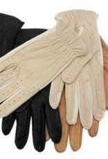Showcraft Glove Leather/Spandex - Bone - Small
