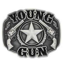Montana Attitude Buckle Young Gun Buckle