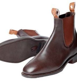 Thomas Cook Thomas Cook Womens Trentham Leather Sole Boots - Chestnut - Size 6