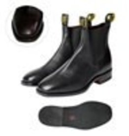 Thomas Cook Thomas Cook Trentham Women's Leather Boots Rubber Sole - Black - Size 6
