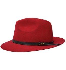 Thomas Cook Thomas Cook Jagger Wool Felt Hat - Red - 57cm