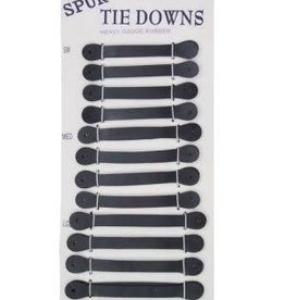 Spur Tie Downs Heavy Guage Rubber - Large