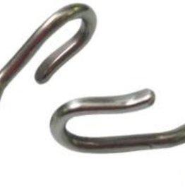 S.S Curb Chain Hooks - Pair