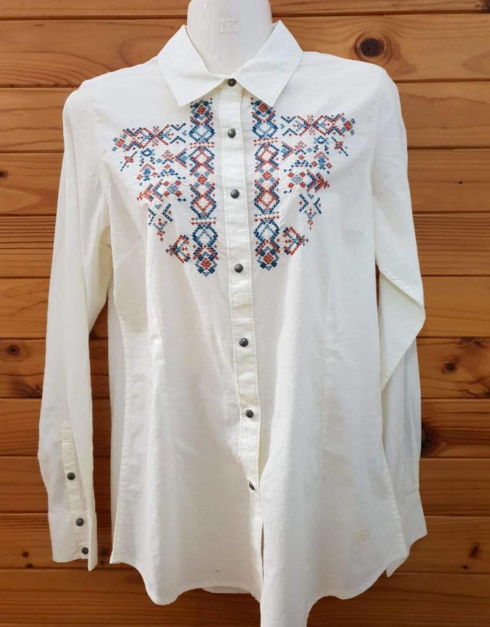Ariat Ariat Hatch Snap Shirt - Ivory - Size L