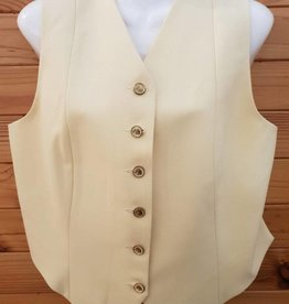 Windsor Apparel Ladies Vest - Banana - Size 14