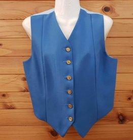 Windsor Apparel Ladies Vest - Cornflower Blue - Size 14