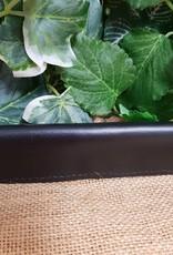 Curb Chain Guard Leather Closed - Black - Cob