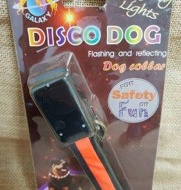 Pets Galaxy Disco Dog Collar - Large