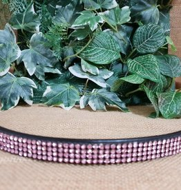 Browband - Black with Pink - Cob