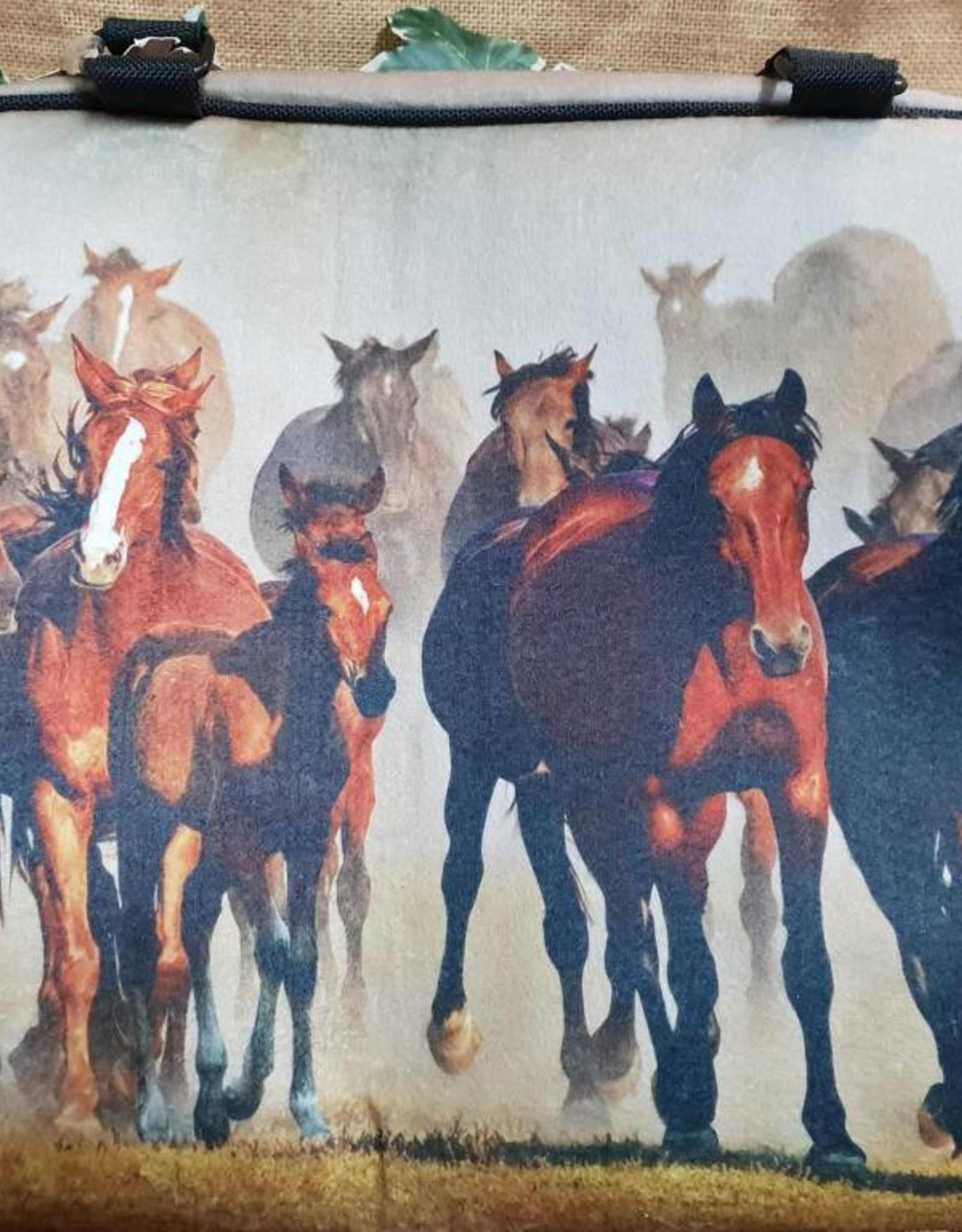 Brigalow Horses Felt Bag
