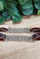 Western Curb Chain - Natural Tan